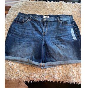 NWOT Lane Bryant Jean Shorts Size 20
